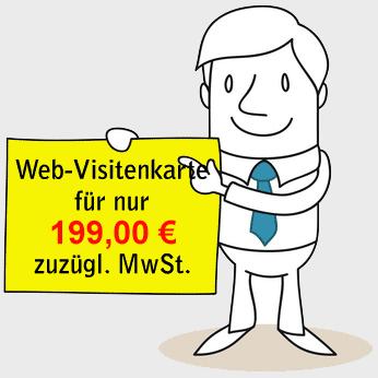 Web Visitenkarte Zum Festpreis Ihr Start In Die Onlinewelt