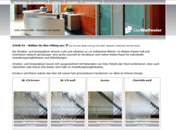 Webdesign Referenz 2: glastuerportal.de